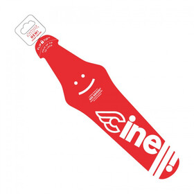 Cinelli Ass Saver X Cinelli Spritzschutz rot